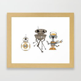 these are the droids Framed Art Print