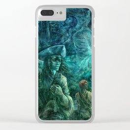 Keeper of your heart Clear iPhone Case