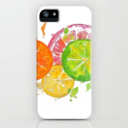 Citrus Burst! iPhone Case