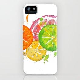 Citrus Burst! iPhone Case