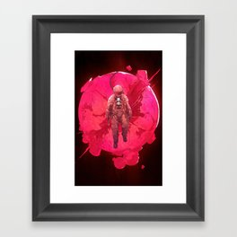 The World Framed Art Print