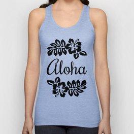 Aloha Hibiscus Flowers Unisex Tank Top