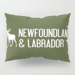 Newfoundland and Labrador Moose Pillow Sham