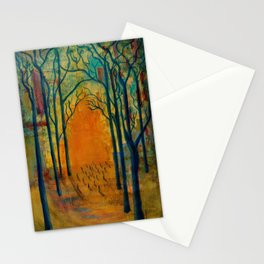 Light in the Wilderness  Stationery Cards