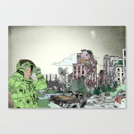 Wasteland Canvas Print