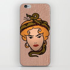 Snake Lady iPhone & iPod Skin