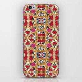 Spanish Flowers iPhone Skin