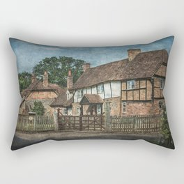 An Oxfordshire Village Rectangular Pillow