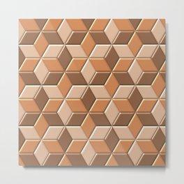 Geometrix L Metal Print