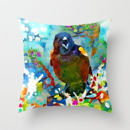 A Little Birdie Told Me... Throw Pillow