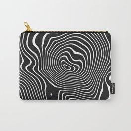 warped zebra Carry-All Pouch