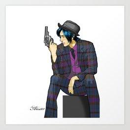 801 YAKUZA Art Print