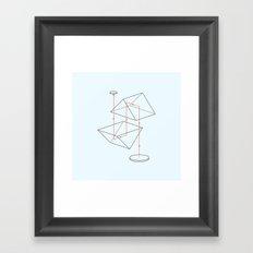 Prisms & Lenses - Binocular Framed Art Print