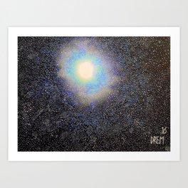 Galaxy One Art Print