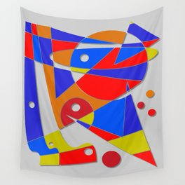 Abstract #89 Wall Tapestry