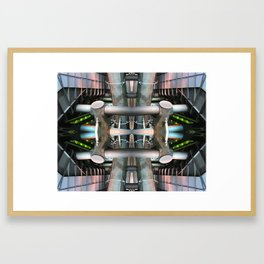 INFRASTRUCTURE NUMBER ONE Framed Art Print