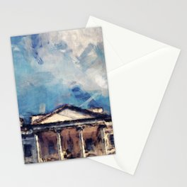 White House On A Sunny Day Stationery Cards