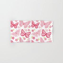 Beautiful Modern Butterfly Pattern Hand & Bath Towel