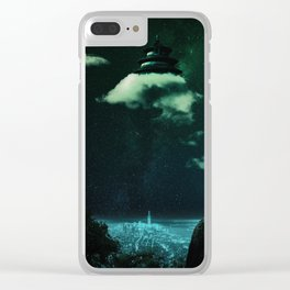 Foreclosures 4 - The Cloud People Clear iPhone Case