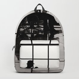 black&white- airport-travel-journey-expectation-silhouette-adventure Backpack