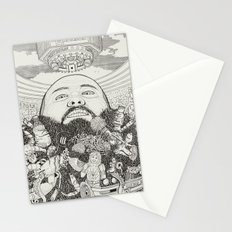 ACTION BRONSON Stationery Cards