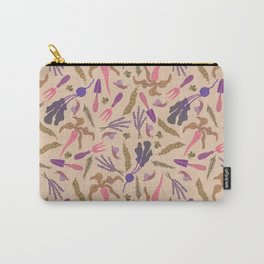 Pink carrot Carry-All Pouch