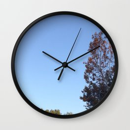 Just Another Manic Moonday Wall Clock