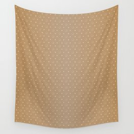 Art Deco Pattern 1 [LIGHT GOLD] Wall Tapestry