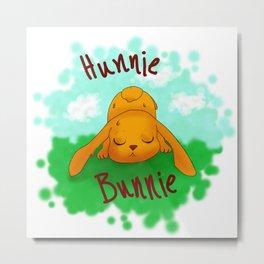Hunnie Bunnie Metal Print