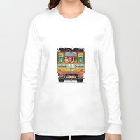truck Long Sleeve T-shirts featuring TRUCK ART by urvi