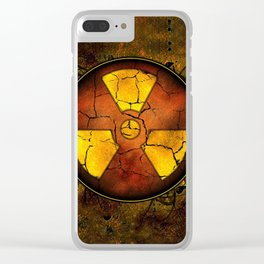 Umbrella of death Clear iPhone Case