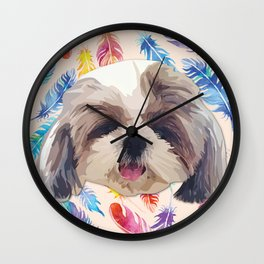 Shitzhu 2 Wall Clock