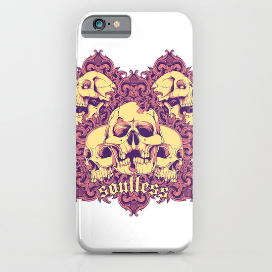 Soulless skulls iPhone & iPod Case