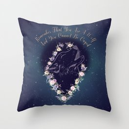 ACOWAR Wolf Throw Pillow