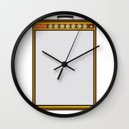 Tail Amplifier Wall Clock
