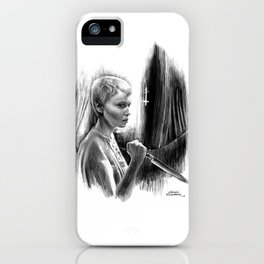 Homage to Rosemary's Baby iPhone Case