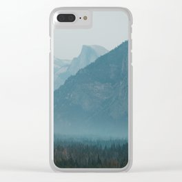 Yosemite Valley Tunnel View Clear iPhone Case