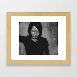 Lesley Framed Art Print