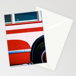 Summer Bus Trip Stationery Cards