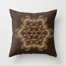 Sequential Baseline Mandala 12b Throw Pillow
