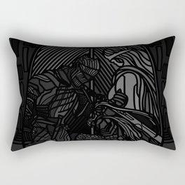 Gone Hollow Rectangular Pillow
