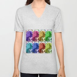 Coping With Fred 2 Unisex V-Neck