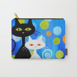 Fancy Cats Carry-All Pouch
