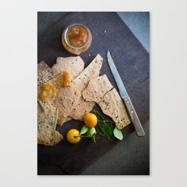Crackers & Jam Canvas Print