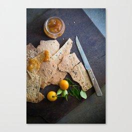Crackers & Jam Canvas Print