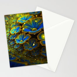 Flowers road Stationery Cards