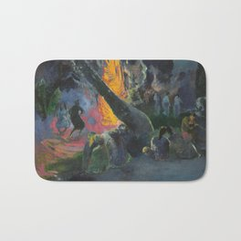 Upa Upa (The Fire Dance) by Paul Gauguin Bath Mat