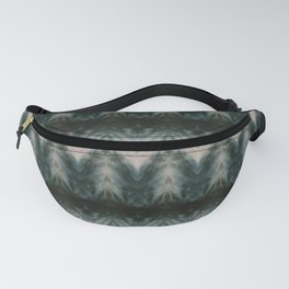 Shades of Green Shibori Fanny Pack