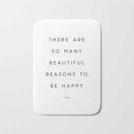 So Many Reasons 02 Bath Mat