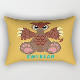 Owlbear! Rectangular Pillow